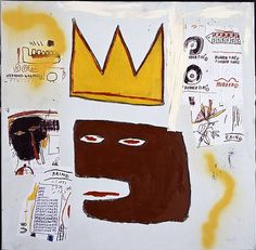 History of Art: Jean-Michel Basquiat-out·sid·er art noun- art produced by self-taught artists who are not part of the artistic establishment. (Though he was taken into the NY art scene big time )