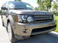 2013 Land Rover Range Rover Sport, Nara Bronze #LandRoverPalmBeach #LandRover #RangeRover http://www.landroverpalmbeach.com/