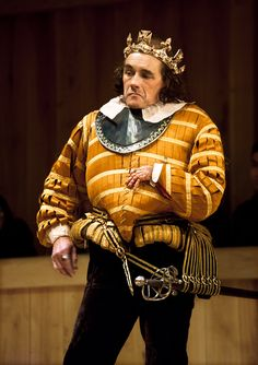 Mark Rylance as Richard III alternating with 12th Night at The Belasco Theatre, Broadway.