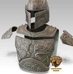 Deluxe Cosplay Armor and Helmet RAW Star Wars Cosplay, Armor Set's - Neckpiece