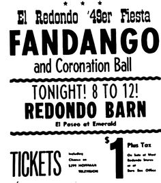 Click on the link here for Audio Player - KXLA - Redondo Beach Barn Program - Nov. 27, 1948 - Gordon Skene Sound Collection Fans of the West Coast, and specifically Southern California, may get a k...