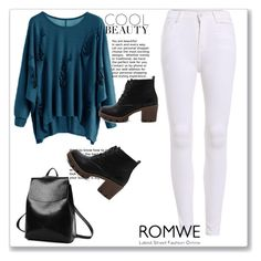 """Romwe 9"" by miincee ❤ liked on Polyvore featuring WithChic"