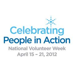 National Volunteer Week (April 15-21)