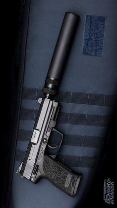 HECKLER & KOCH - HK USP45 TACTICAL (V1) 5.09IN 45 ACP HANDGUN SEMI AUTO PISTOL FIREARM BLUE 12+1RD