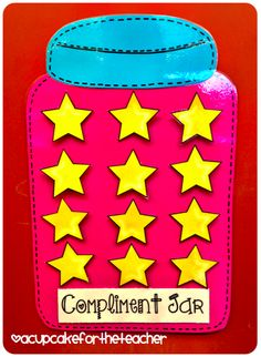 Behavior reinforcement? Remove a star if the class makes a bad choice. If no stars are removed in one day, they earn something special?