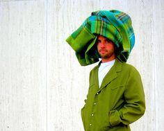 Vintage green men's western suit pearl by SassySenoritaVintage