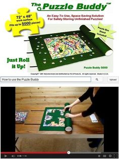 Storage Mats and Glue 180021: Puzzle Buddy 5000 Jigsaw Puzzle Mat, Large -> BUY IT NOW ONLY: $43.75 on eBay!