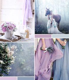 Mood Board: Gray Blue + Lavender | *Lovely Clusters - The Pretty Blog www.lovelyclustersblog.com