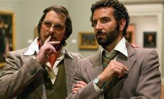 Bale and Cooper in American Hustle - so good.