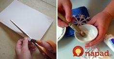 Neutrácajte za drahé vianočné dekorácie. Neuveríte, ako jednoducho a celkom zadarmo si ich môžete vyrobiť sami!