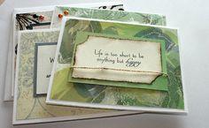 Assorted Motivational Handmade Cards by KipseysCardShop on Etsy, $15.00