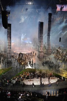 Dazzling Photos That Remind Us Why We Fell In Love With The London 2012 Opening Ceremony