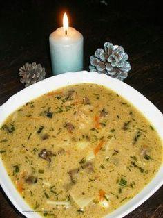 Sprawdzone Przepisy Misiaczka: Wigilijna zupa grzybowa z serkiem topionym
