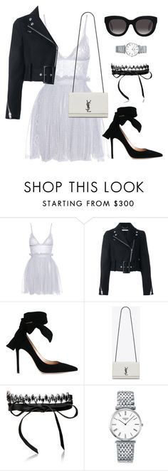 """""""Untitled #162"""" by amya9811 on Polyvore featuring Alexander McQueen, Givenchy, Gianvito Rossi, Yves Saint Laurent, Fallon, Longines and Muse"""