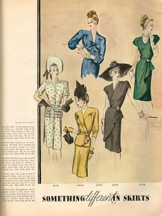 1940s Vintage McCall Pattern Book February Summer Pattern Catalog 80 Pages | eBay