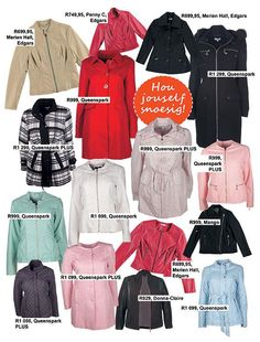 Fashion: warm coats and jackets for winter | Mode: warm baadjies te kies en te keur