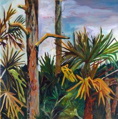 SALE Florida Landscape Fine Art Original by EvelynMcCPetersArt, $100.00