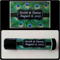 15 Personalized Party Favors / Lip Balm / Chapstick Wedding Favors / bachelorette party / bride to be / bridesmaid gift by TaniasTorches on Etsy