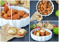 Deep Fried Olives {Tapas from Spain and a hommage to the Viktualienmarkt in Munich}
