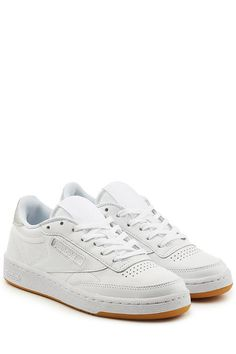 e212651133bf0 REEBOK Club C 85 Diamond Leather Sneakers.  reebok  shoes