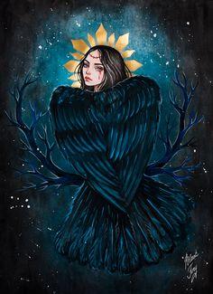 Black Fury Самара, Россия. Сообщество иллюстраторов | Иллюстрация Сирин.