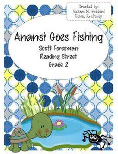 Anansi goes fishing writing activities