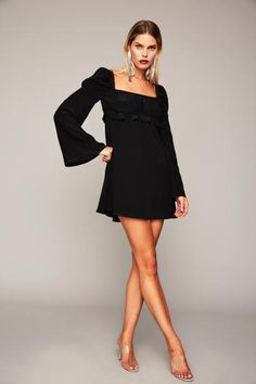 Vine Dress - Black