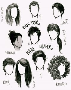 """""""...and he's got great hair, I mean, really grrreeaattt hair!"""" Rose Tyler, about 10"""