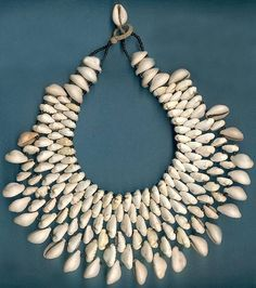 Cowrie Shell Necklaces from ATB Cowrie Shell Necklace, Shell Jewelry, Shell Necklaces, Tribal Jewelry, Monies Jewelry, Beaded Jewelry, Handmade Jewelry, Shell Schmuck, Tahitian Costumes
