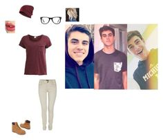"""""""chillin wih jack g"""" by nynystrong ❤ liked on Polyvore featuring Object Collectors Item, Morgan, Timberland, Muse and Charlotte Tilbury"""