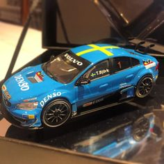 Thanks to @volvocarsa and @bevolvo for this epic little scale model of their S60 STCC Polestar...  #Zero2Turbo #Volvo #Polestar #S60 #STCC #VolvoSouthAfrica