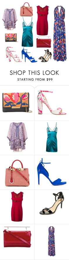 """""""weekend shopping"""" by kristen-stewart-2989 ❤ liked on Polyvore featuring Lizzie Fortunato Jewels, Monique Lhuillier, Poupette St Barth, Fleur of England, Fendi, Ginger & Smart, Chanel, MICHAEL Michael Kors, M2Malletier and Emilio Pucci"""