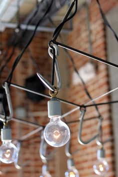 DIY: Meat Hook Chandelier from Pendant Lights