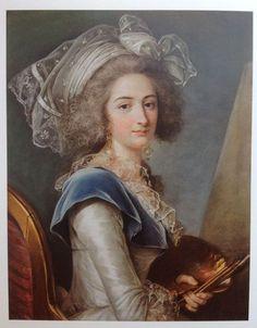 Marie Marguerite Carreaux Rosemond  (d1788) Pupil of  Adelaide Labille-Guiard