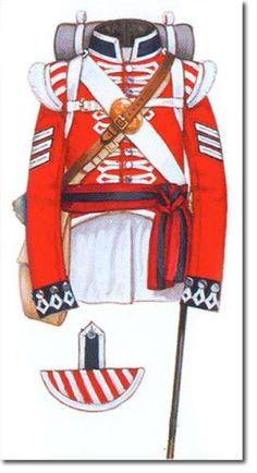 British 4th (Kings' Own) Regiment, 1815: