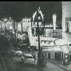 Ave. Juarez from 1950 (Cd. Juarez Chih.)