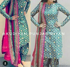 deol Classic Indian salware suits Click visit link to see Indian Suits, Indian Attire, Indian Dresses, Indian Wear, Pakistani Fashion Casual, Punjabi Fashion, Indian Fashion, Punjabi Dress, Punjabi Suits