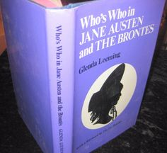 Who's Who in Jane Austen and the Brontes by Glenda Leeming H C-