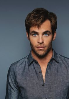The eyes, the hair...the rest isn't too bad either. ;) from chris-pine.org