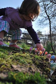 Easter Lollipop Garden: Did you know that on Easter Eve, you can plant jelly beans and they grow overnight into lollipops?