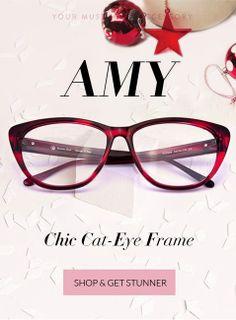 cdb3061b0c Chic cat-eye frame  OzealGlasses