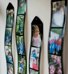 DROPS picture collage frames look like rolls of film - because your kids oughta be in pictures!