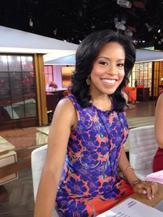 It's first weekend with us, we're so happy to have you Sheinelle! Welcome to the family! L Love U, Tamron Hall, Female News Anchors, Nbc Today Show, Black Women, Celebrities, Palace, Beauty, Beautiful