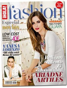¡HOLA! Fashion (Abril 2013) En portada: Ariadne Artiles #holafashion #models #covers