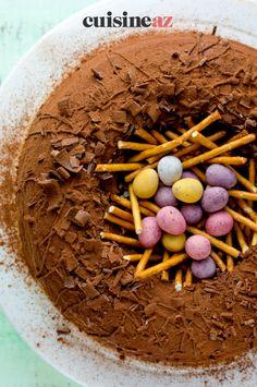 Vous pouvez préparer votre dessert de Pâques au Thermomix en suivant cette recette de gâteau de Pâques. #recette#cuisine#gateau #paques#patisserie #robot #robotculinaire #thermomix Cooking Recipes, Thermomix