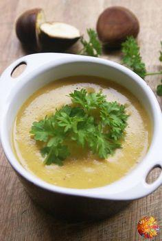 My Culinary Art: Zupa - krem z kasztanów