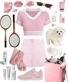 Discover outfit ideas for workout made with the shoplook outfit maker. How to wear ideas for Coconut Hydrating Lip Balm and lime crime nude pink Clueless Outfits, Kpop Fashion Outfits, Sporty Outfits, Girly Outfits, Retro Outfits, Cute Casual Outfits, Teen Fashion, Mean Girls Outfits, Kawaii Clothes