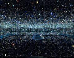 Yayoi Kusama Infinity Room at The Broad Museum