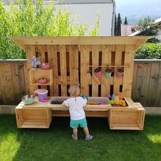 If the daughter wants a slush kitchen for the granddaughter, then grandpa . If the daughter wants a slush kitchen for the granddaughter, then Grandpa is ., If the Toc . # then Backyard Playground, Backyard For Kids, Backyard Games, Indoor Garden, Outdoor Gardens, Diy Projects For Beginners, Diy Chicken Coop, Outdoor Fun, Kids Outdoor Play