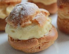 Resep Durian Cream Puff